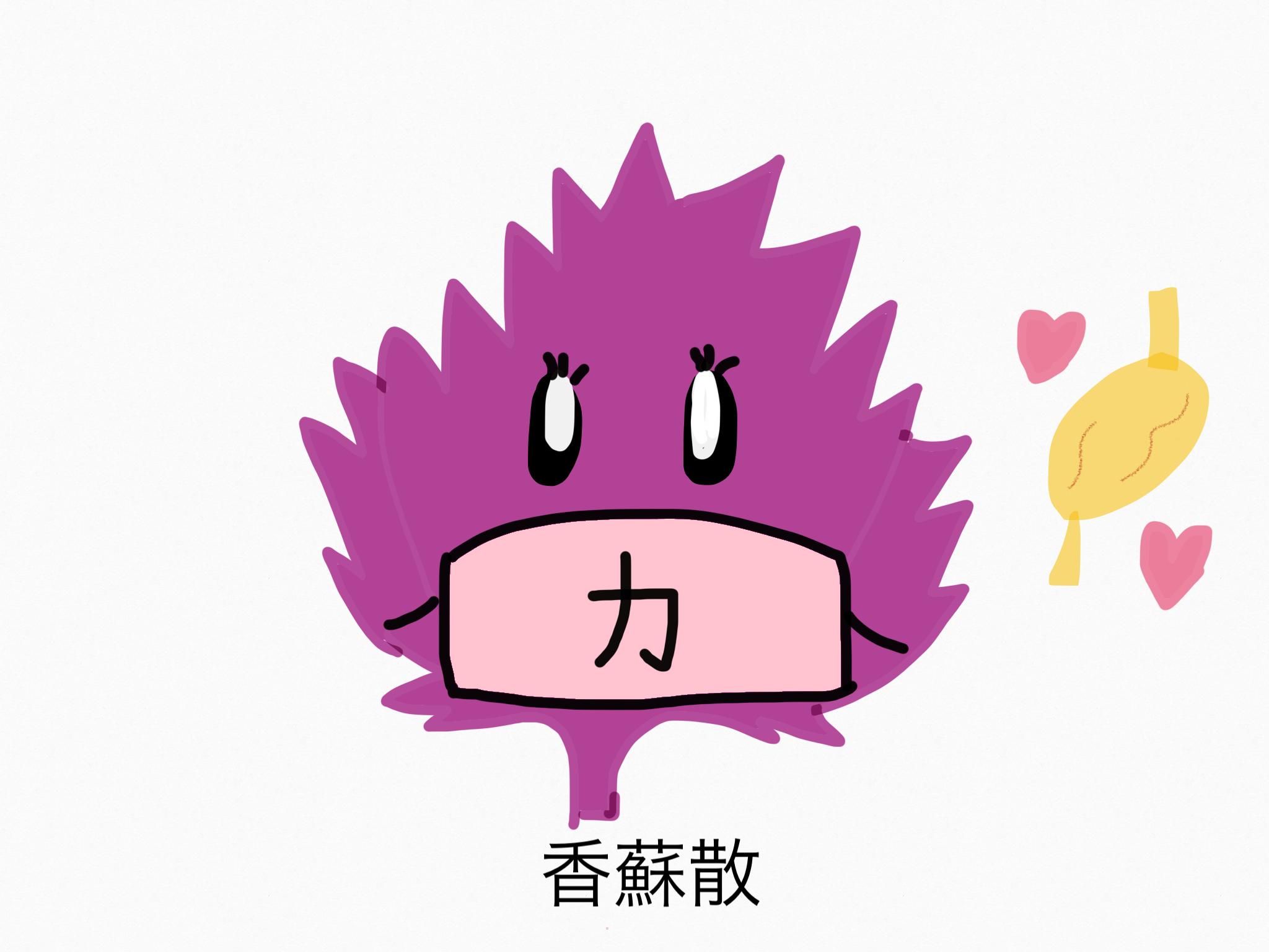 香蘇散(こうそさん)[かぜ]【漢方の覚え方】