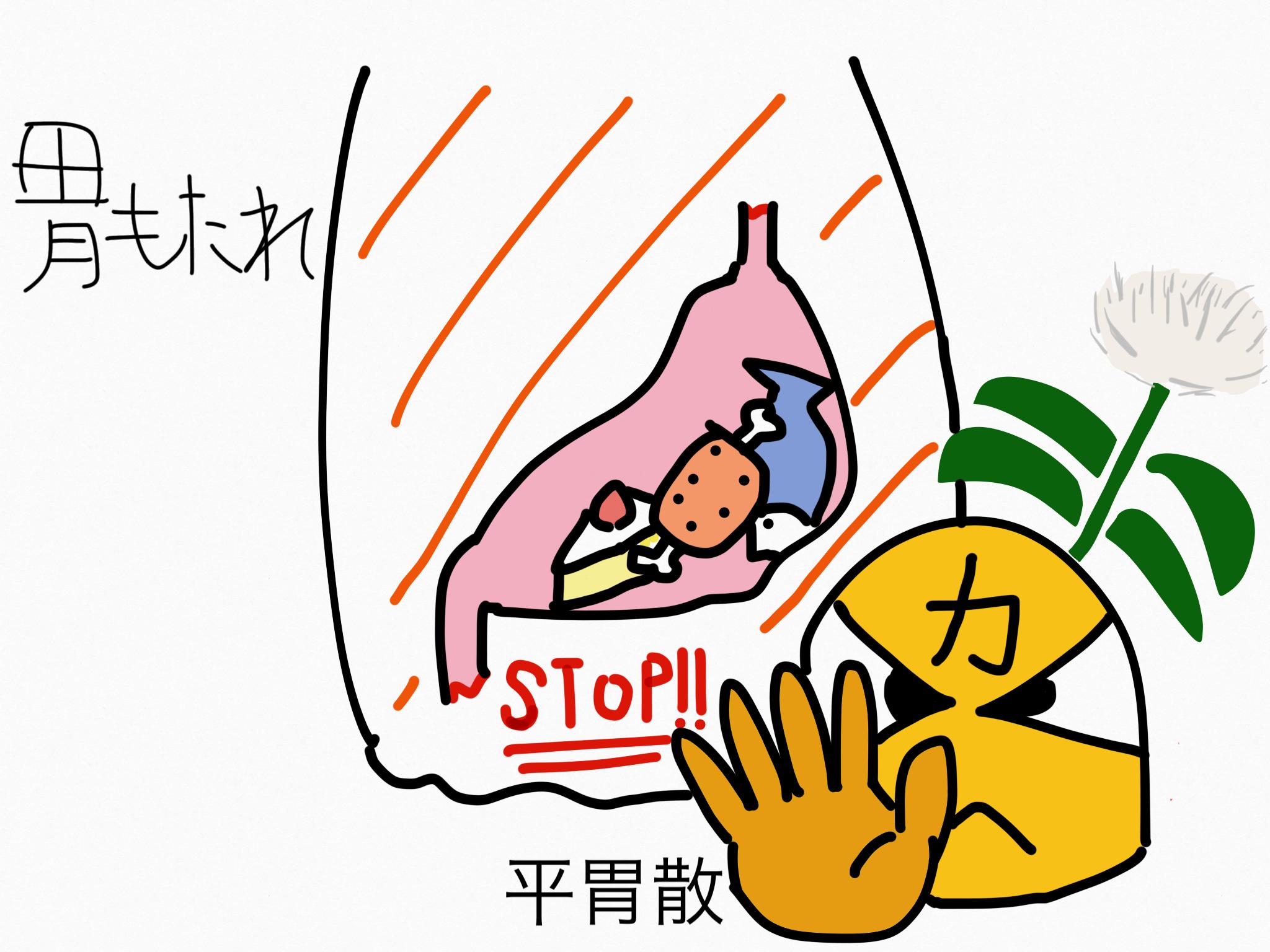 平胃散(へいいさん)[胃の不調]【漢方の覚え方】