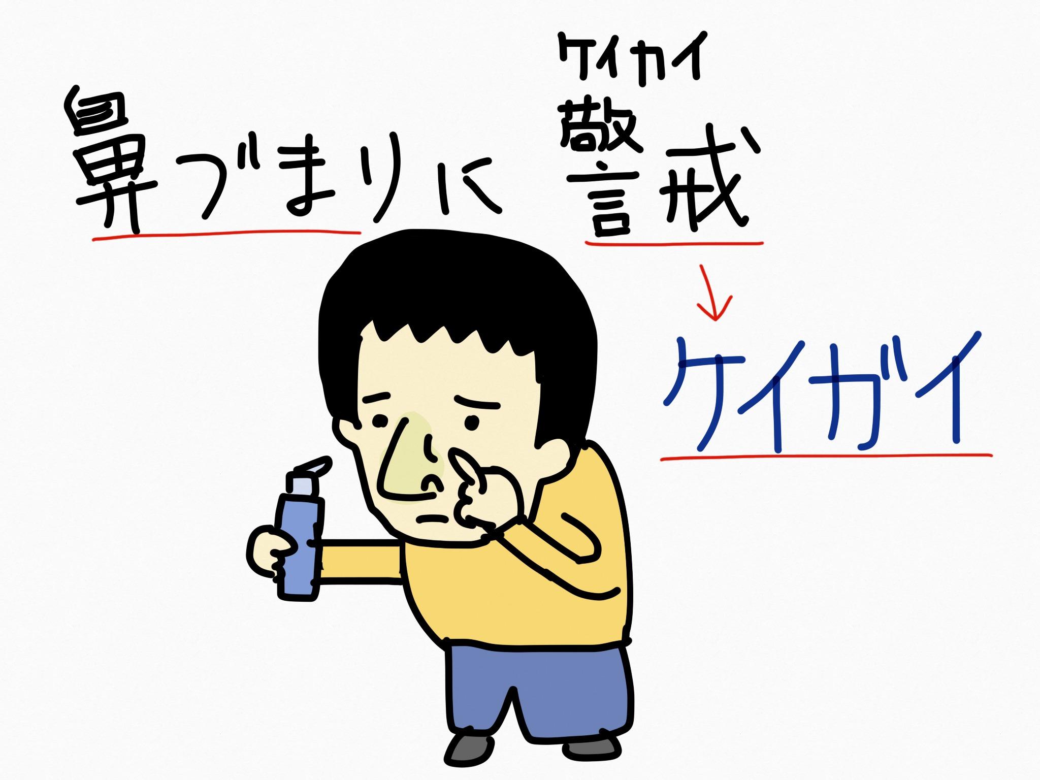ケイガイ[鼻炎用内服薬]生薬の覚え方・暗記方法・語呂合わせ