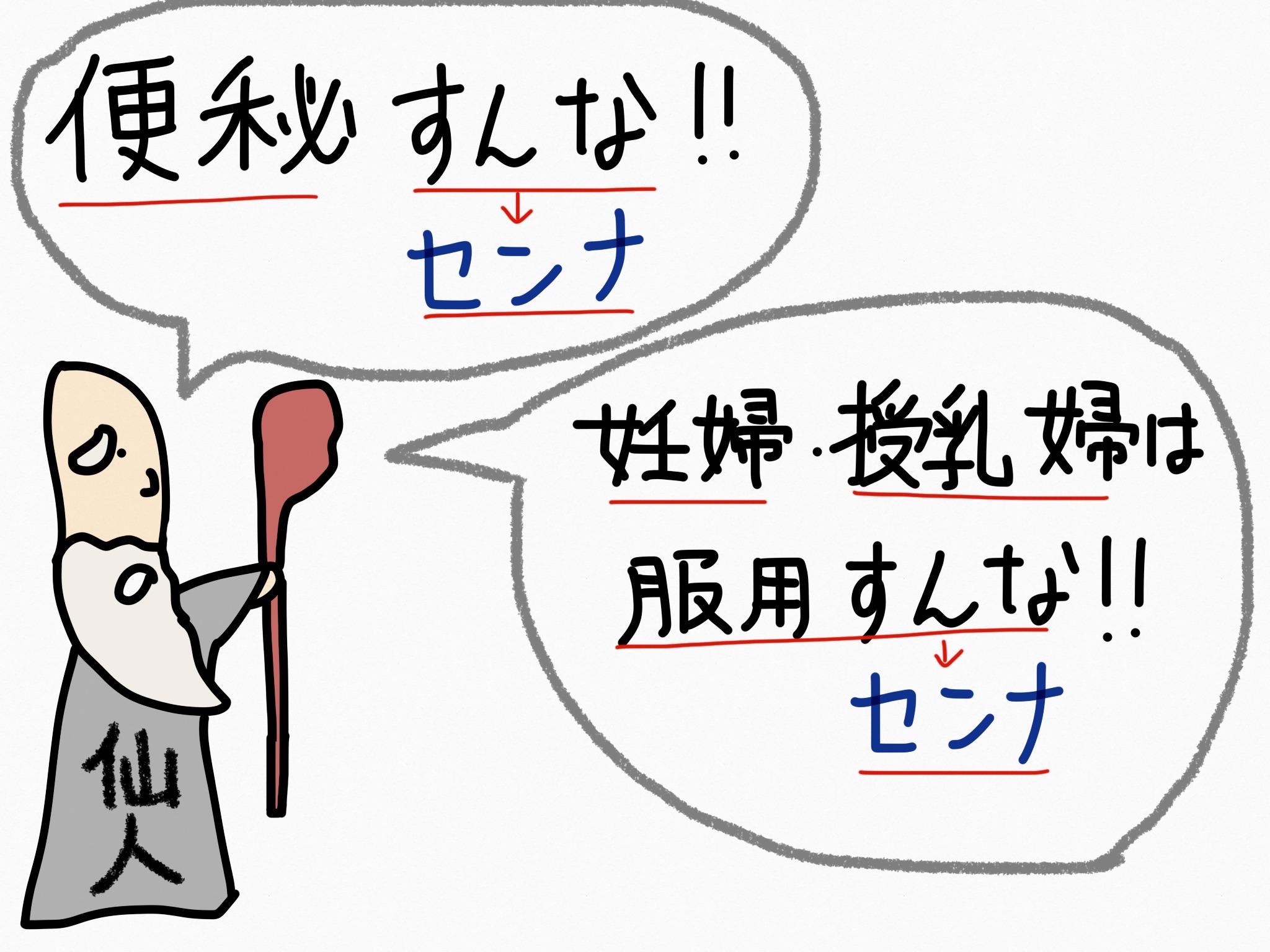 センナ[瀉下薬他]生薬の覚え方・暗記方法・語呂合わせ
