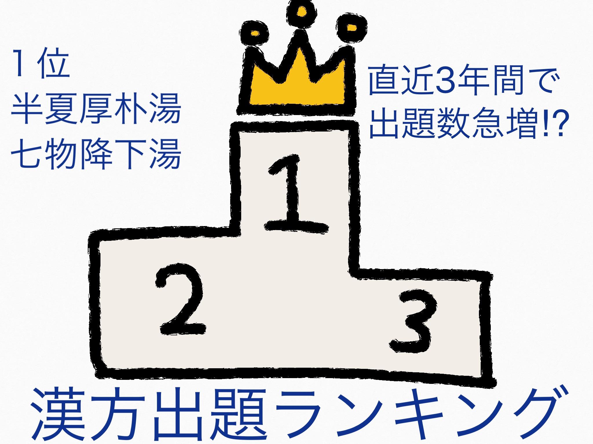 登録販売者試験の過去問からよく出る漢方問題を分析[東京版]