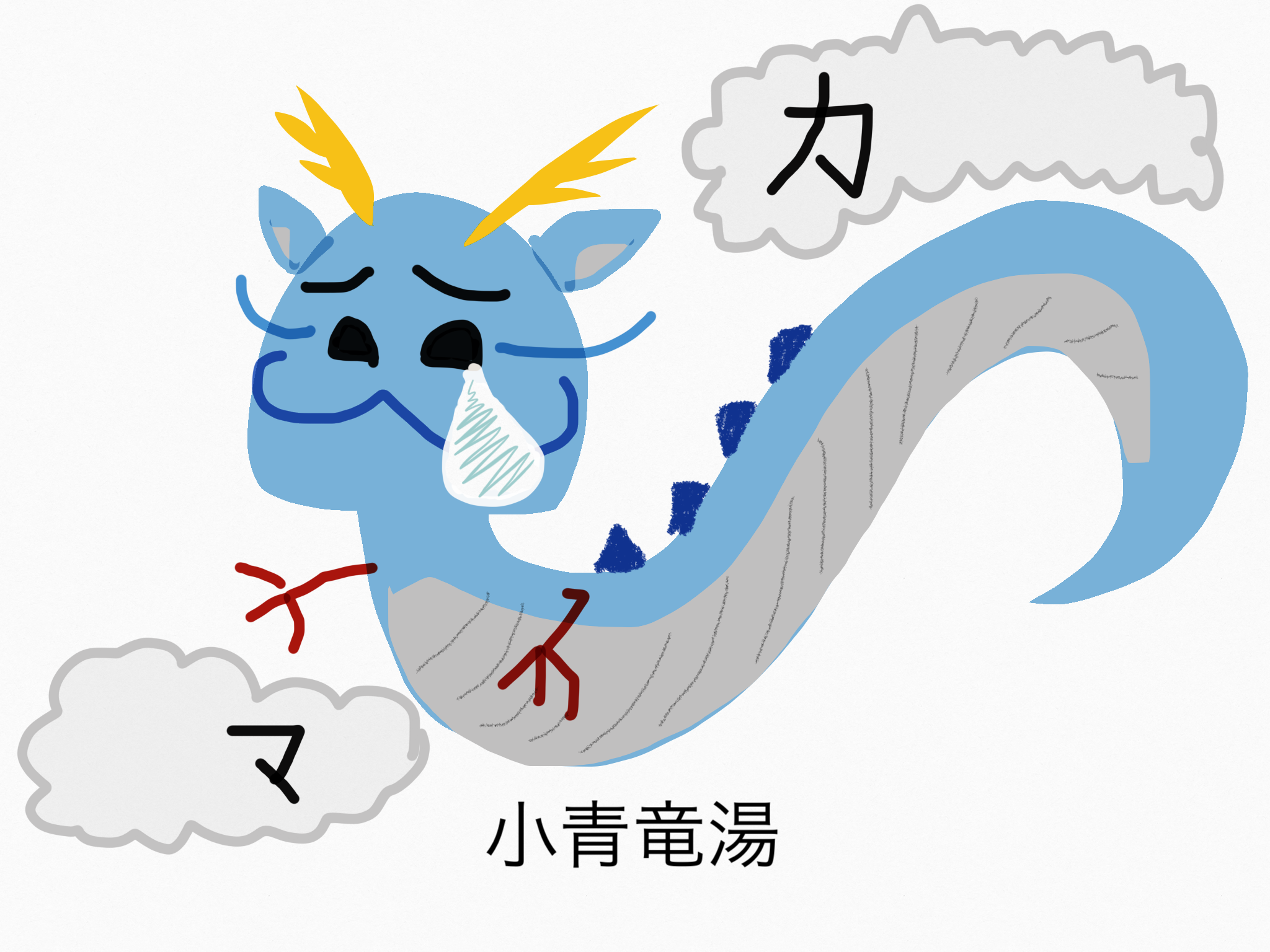 小青竜湯(しょうせいりゅうとう)[かぜ]【漢方の覚え方】