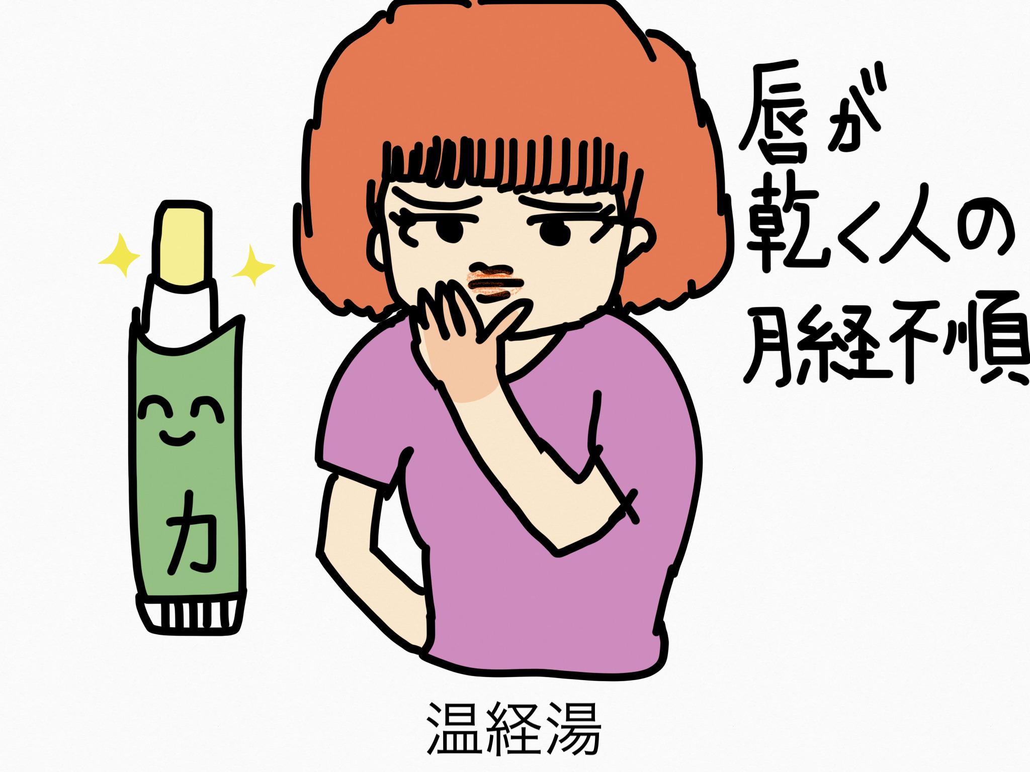 温経湯(うんけいとう)[月経に伴う症状]【漢方の覚え方】